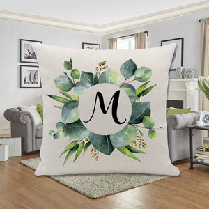 EUCALYPTUS WREATH PILLOW