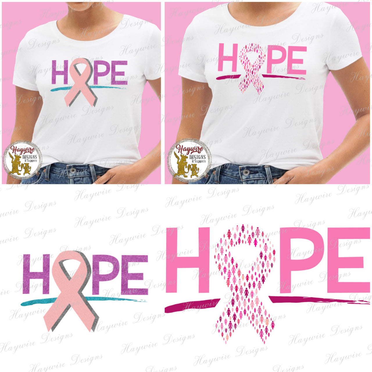 HOPE BREAST CANCER  - 2 Versions