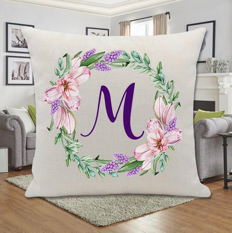 SPRING HAS SPRUNG WREATH PILLOW