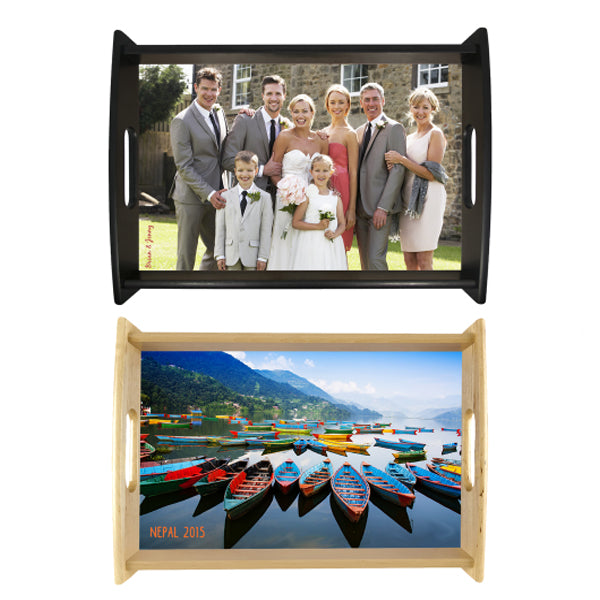"CUSTOMIZABLE SERVING TRAY 11.875"" x 17.625"""