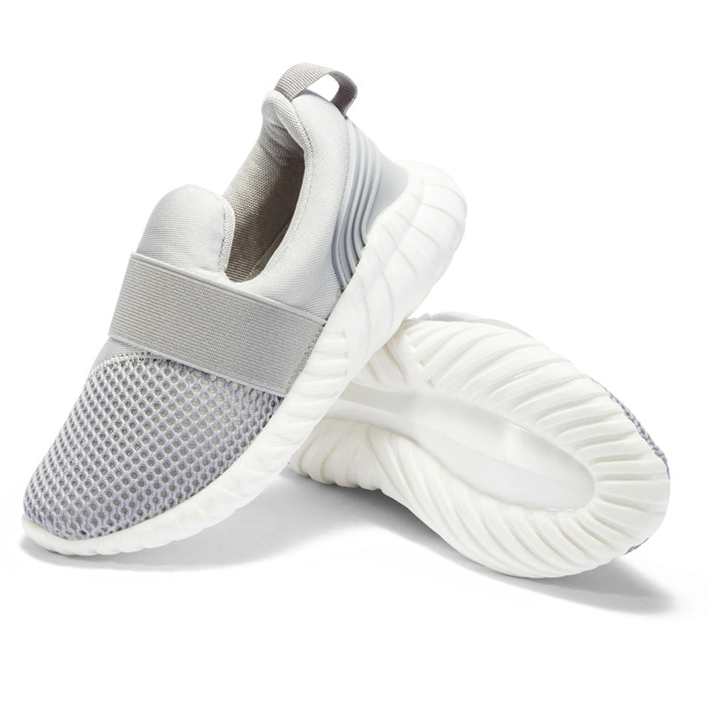 ABCKIDS Anti-Slippery Gray Mesh Shoes