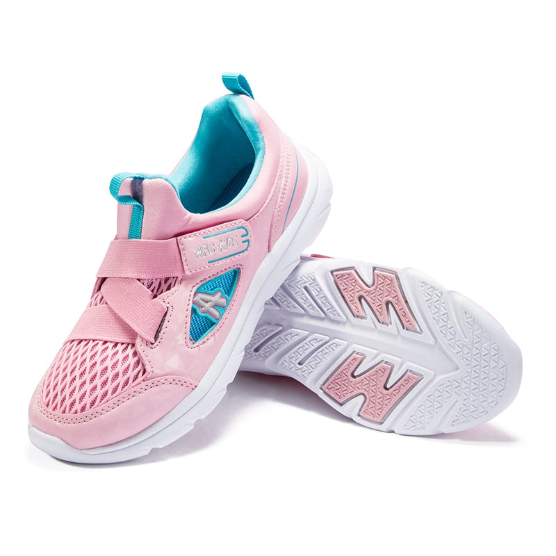 ABC KIDS Girls Fashionable Pink Mesh Shoes