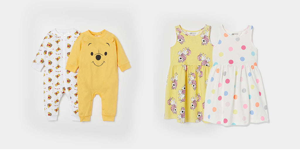 H&M baby girl clothing