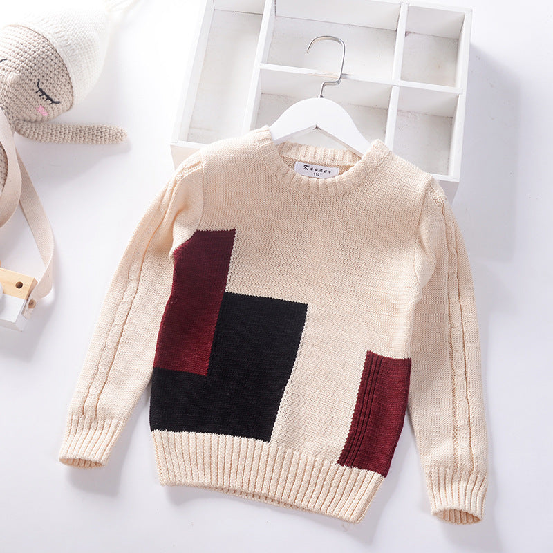 Kids Stylish Long Sleeves Comfortable Sweater