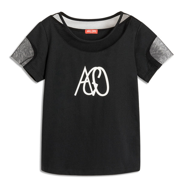 ABCKIDS Unisex Stretchy Short Sleeve Casual Tee