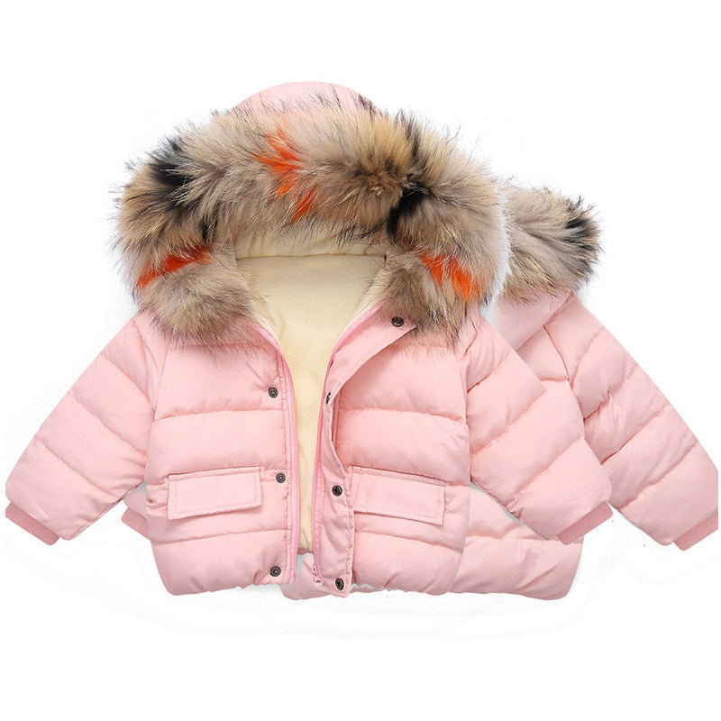 Unisex Trendy Super Warm Lightweight Cotton Hooded Coat