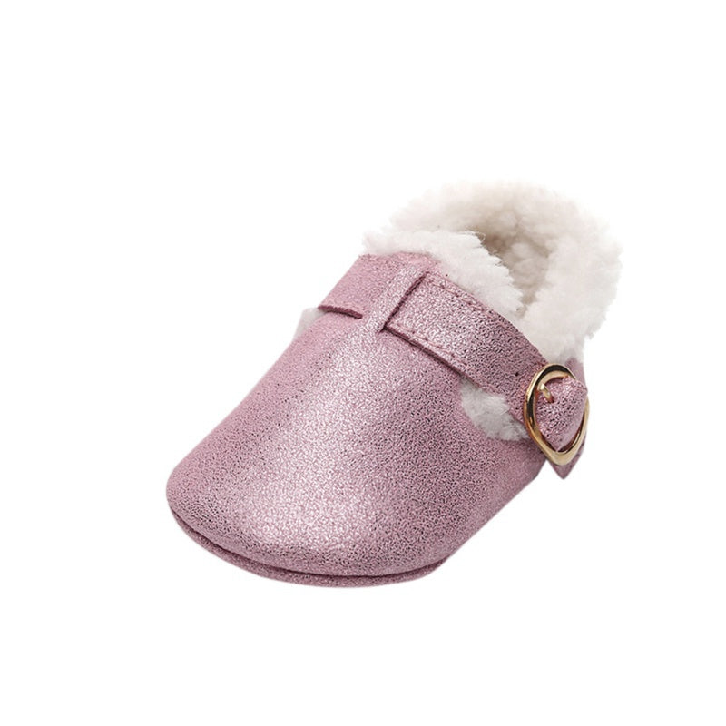 Baby Winter Warm Soft Sole Non-Slip Shoes