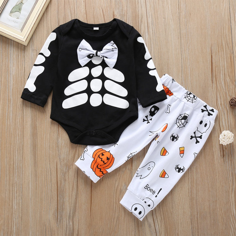 Halloween Style Rompers and Pants Sets