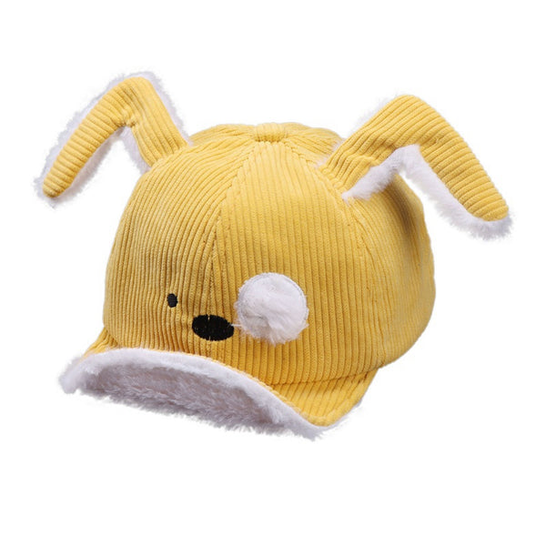 Winter Children Adjustable Sun Protection Cartoon Hat