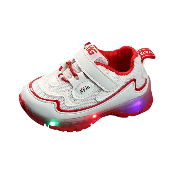 Unisex Anti-skidding Breathable LED Sneakers
