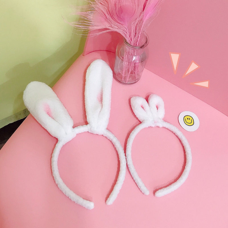 Baby Cute Girls Plush Rabbit Ear Design Headwear