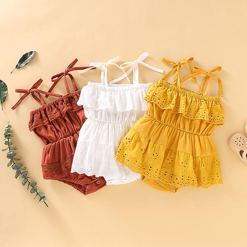 Baby Girls Sweet Summer Rompers