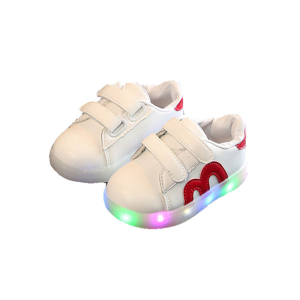 Unisex Light Up Flashing Soft LED Sneakers