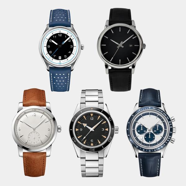 Combo of 5 Wrist Watches - 1 Year Warranty