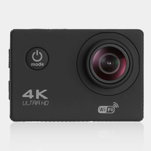 4K ACTION CAMERA WITH WIFI WITH WATERPROOF CASE