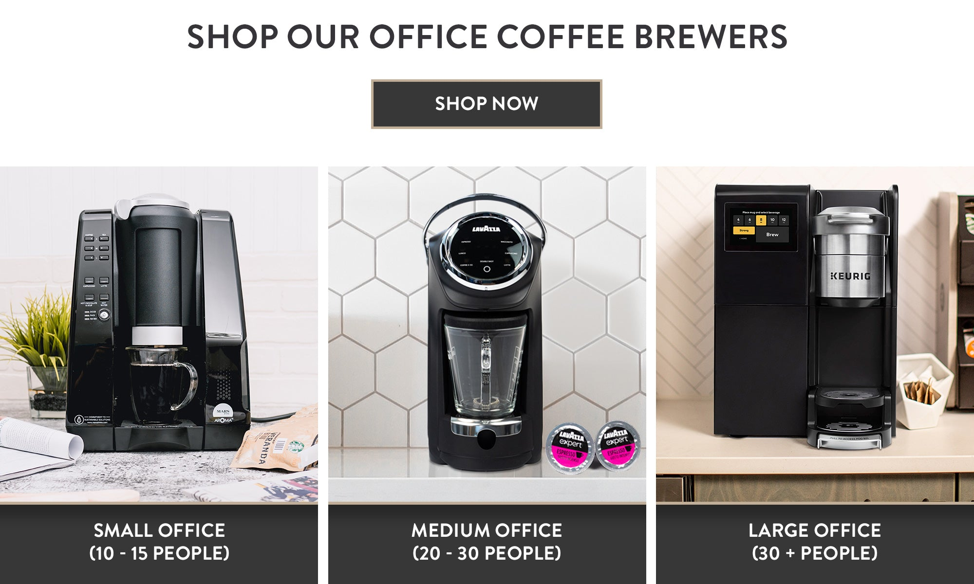 Corporate Coffee Program Brewers