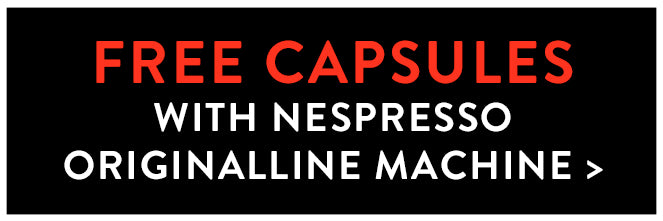 Free Capsules with Nespresso Machine Purchase
