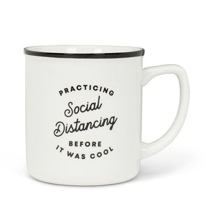 Abbott Practicing Social Distancing Mug, 14 oz.
