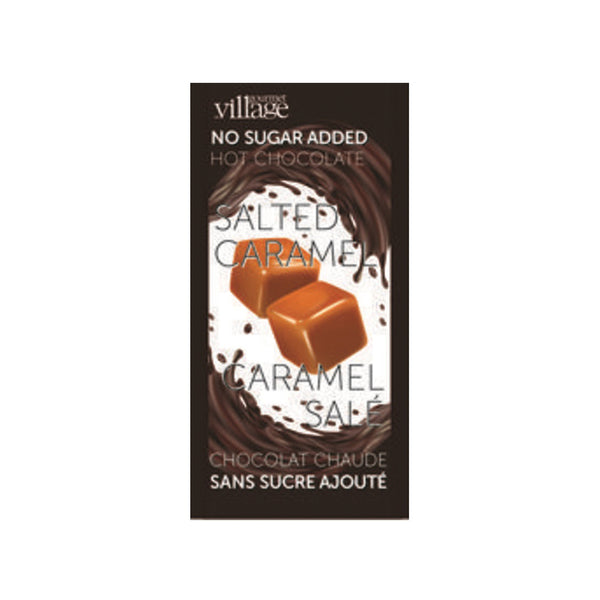 Gourmet du Village Salted Caramel No Sugar Added Hot Chocolate Mix