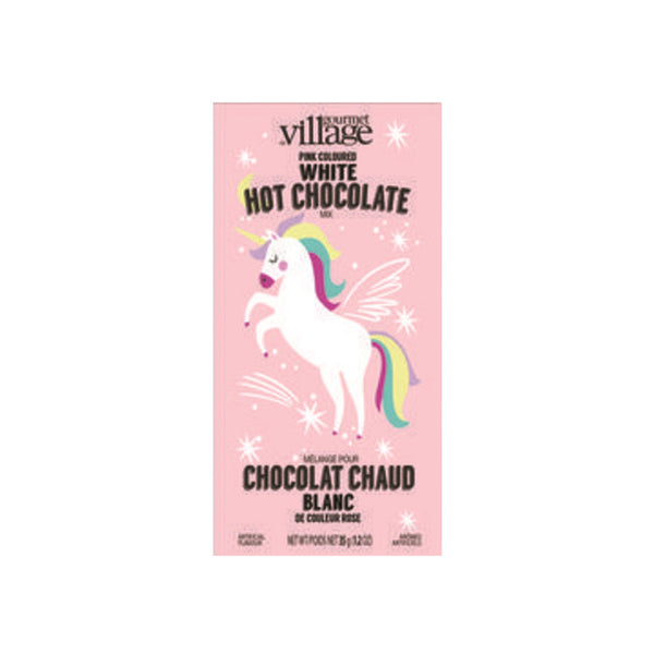 Gourmet du Village Unicorn Pink White Hot Chocolate Mix