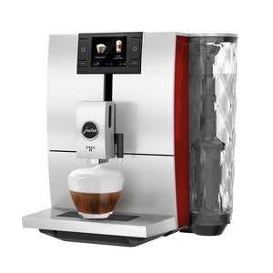 Jura ENA 8 Automatic Espresso Machine, Sunset Red