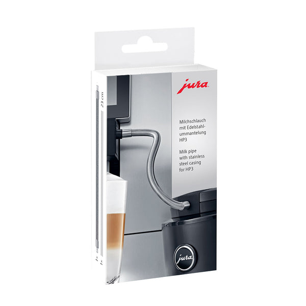 Jura Milk Pipe with Stainless Steel Casing for HP3