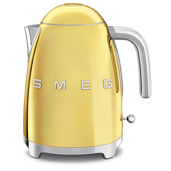 Smeg Electric Tea Kettle, Gold