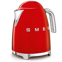 Smeg Electric Tea Kettle, Red