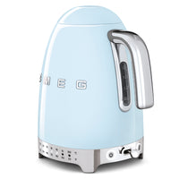 Smeg Variable Temperature Kettle - Pastel Blue