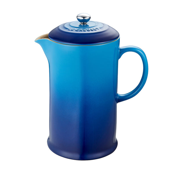 Le Creuset Cafe Stoneware French Press - Blueberry