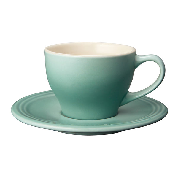 Le Creuset Stoneware Cappuccino Cups, Set of 2 - Sage