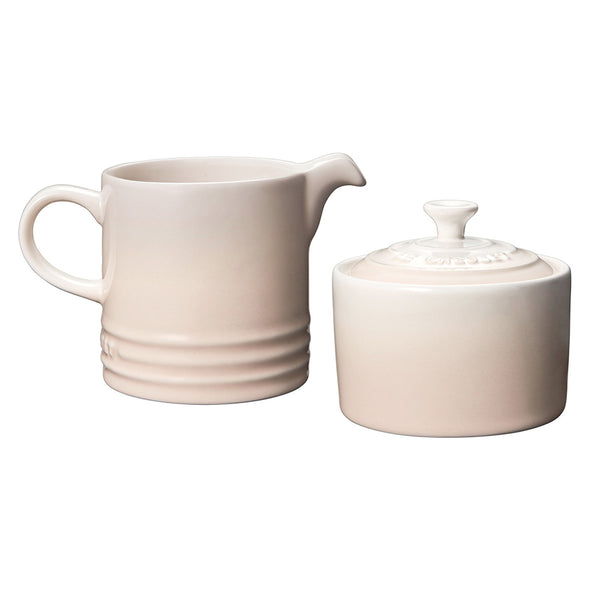 Le Creuset Stoneware Cream & Sugar Set - Meringue