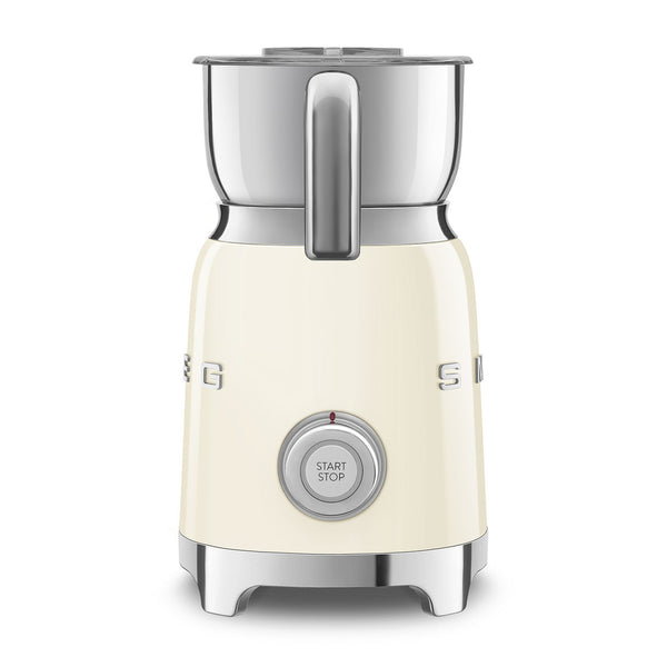 SMEG Electric Milk Frother, Cream