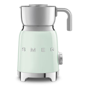 SMEG Electric Milk Frother, Pastel Green