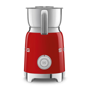 SMEG Electric Milk Frother, Red