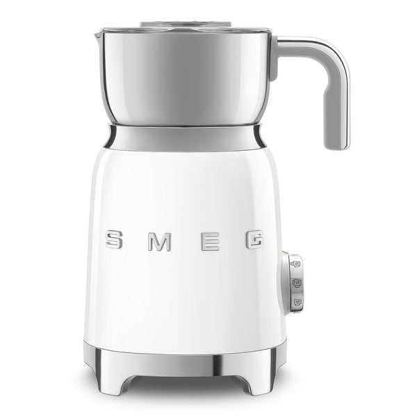 SMEG Electric Milk Frother, White