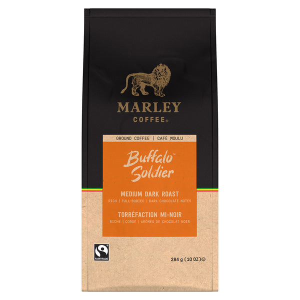 Marley Coffee Buffalo Soldier Ground Coffee 10 oz.