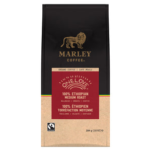 Marley Coffee One Love Ground Coffee 10 oz.
