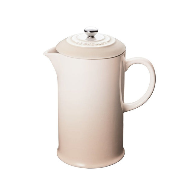 Le Creuset Cafe Stoneware French Press - Meringue