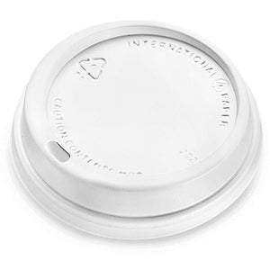 Dome Lids for 10oz Hot Paper Coffee Cups, 1000 Count