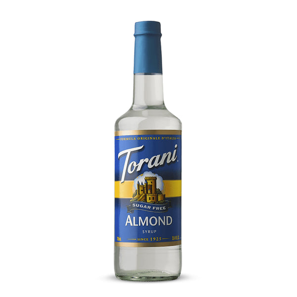 Torani Sugar Free Almond Syrup 750 ml
