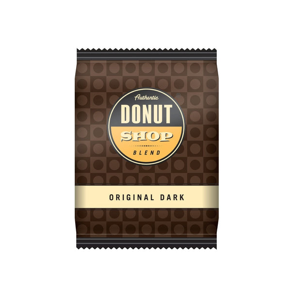 Reunion Island Authentic Donut Shop Original Dark Ground Coffee (2 oz.) 42 Count
