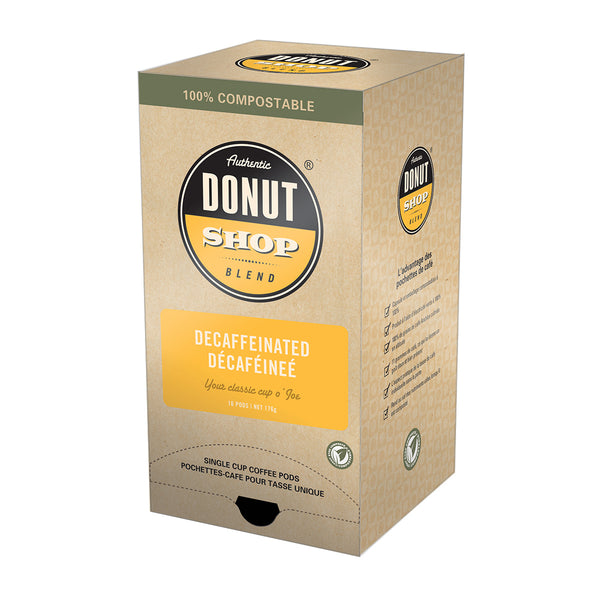 Authentic Donut Shop Decaffeinated Coffee Pods, 16 Pack