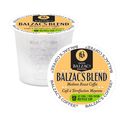 Balzac's Coffee Roasters Balzac's Blend Single Serve Coffee 24 Pack