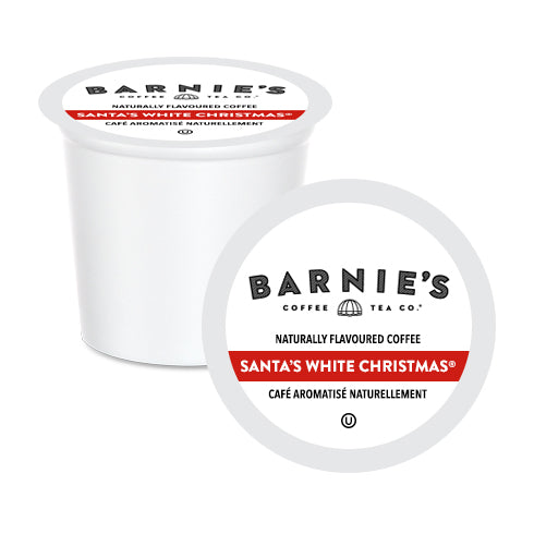 Barnie's Santa's White Christmas Single Serve Coffee 24 Pack