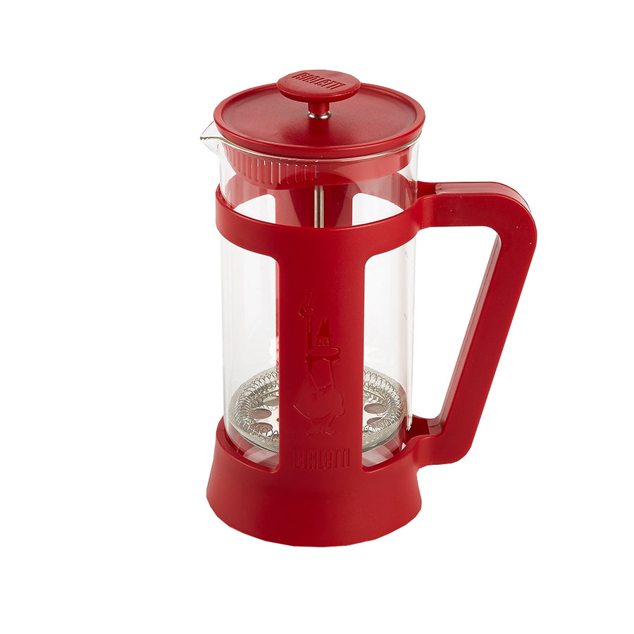 Bialetti 3 Cup Coffee Press, Red