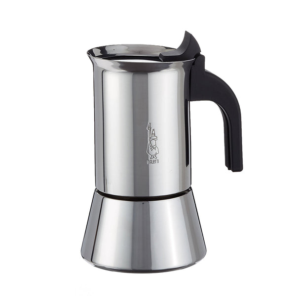 Bialetti Venus Stainless Steel Stovetop Espresso Maker 4 Cup