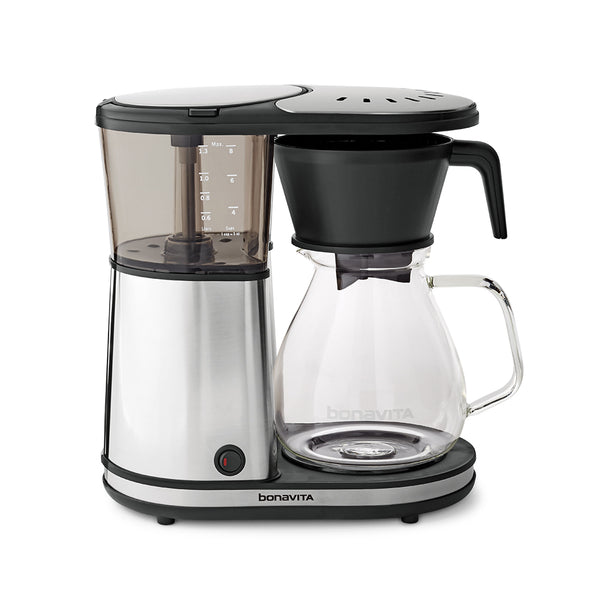 Bonavita 8 Cup Glass Carafe Coffee Brewer with Warming Plate