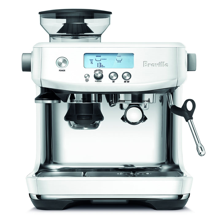 Breville Barista Pro Espresso Machine in Sea Salt White