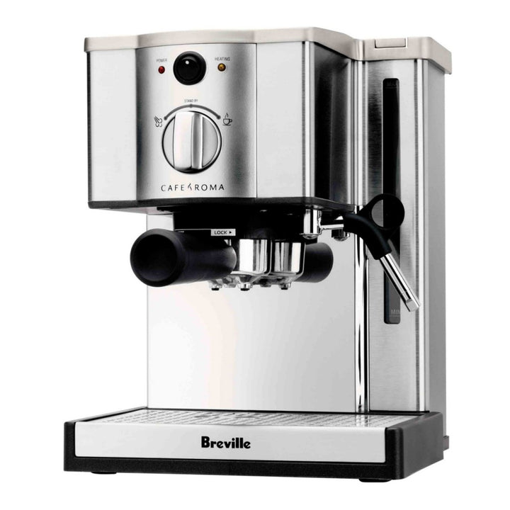 Breville Cafe Roma Espresso Machine in Stainless Steel